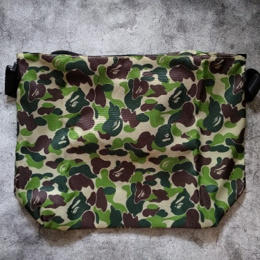 Bape Emook Japan Magazine Camo Shoulder Bag