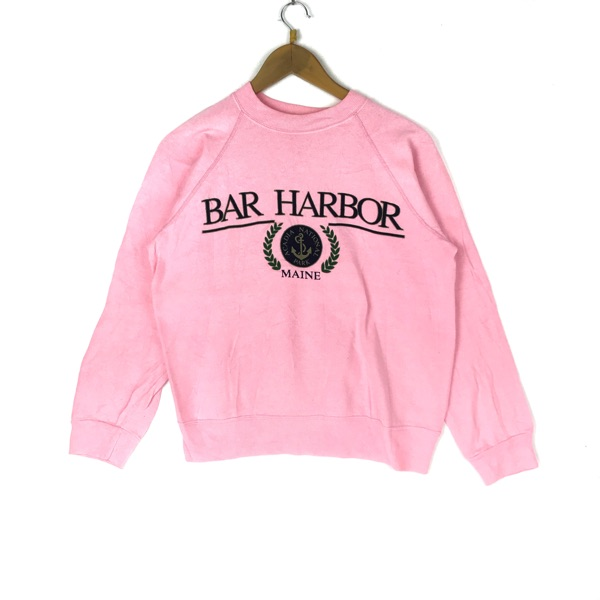 Vintage 90S Bar Harbor Sweatshirt Streetwear