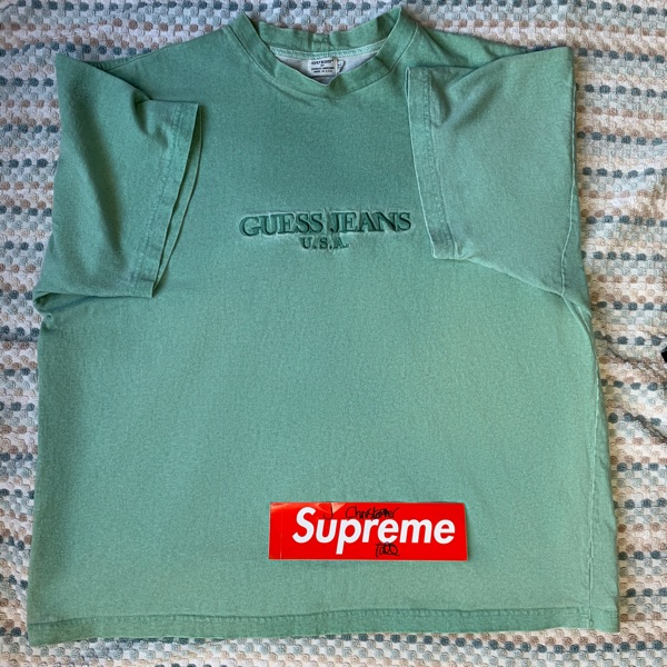 Vintage Guess Mint Green Tee