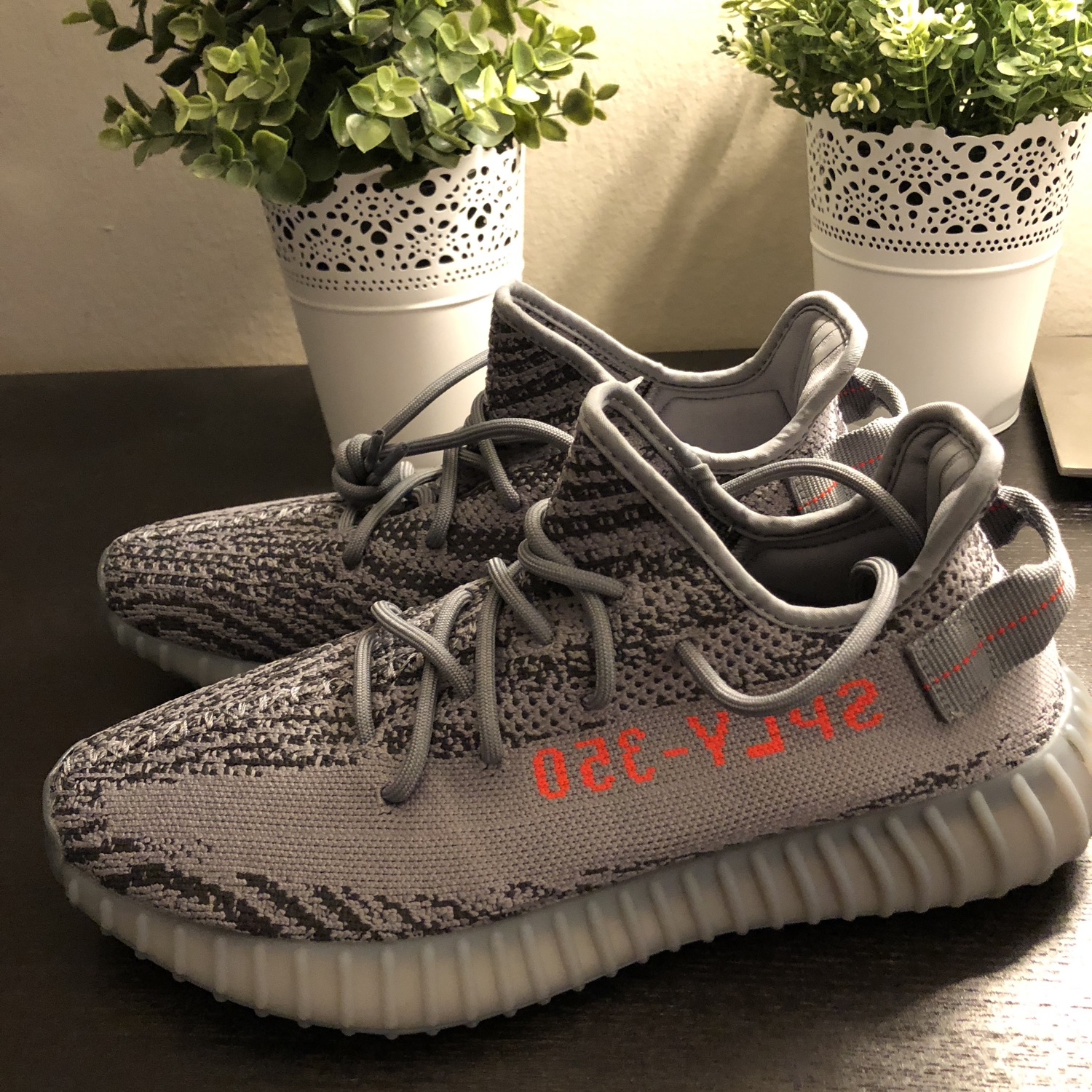 "cheap for discount 9c6cb fb787 Adidas Yeezy Boost 350 V2 Beluga 2.0 ""Moon Rock"""