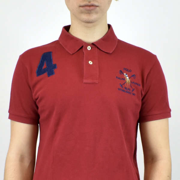 Vintage Ralph lauren polo shirt in red