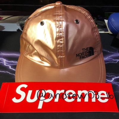 Supreme Tnf Rose Gold 6-Panel Hat