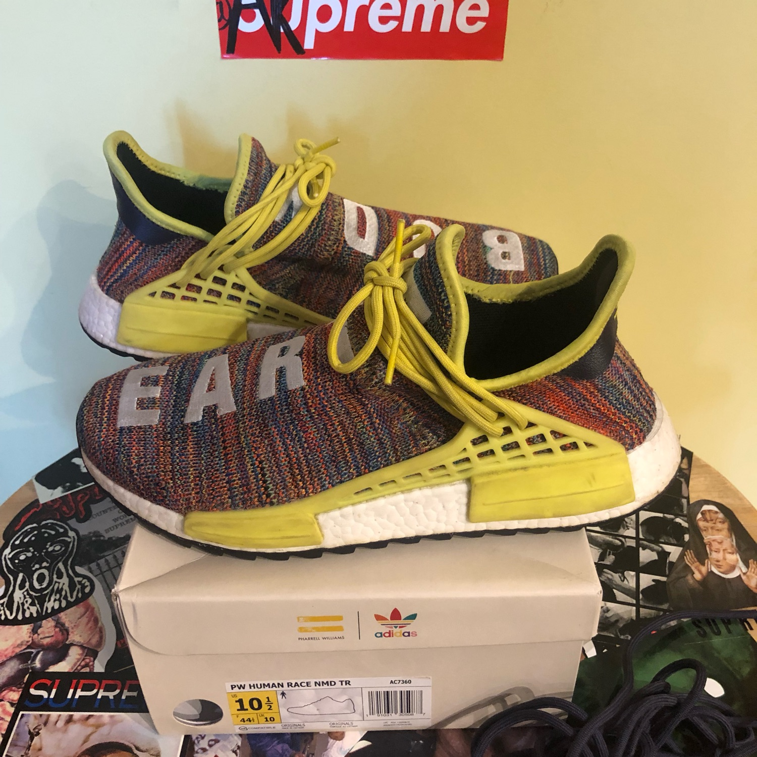timeless design 55637 78eac Pharrell William Human Race Multicolor Size 10.5