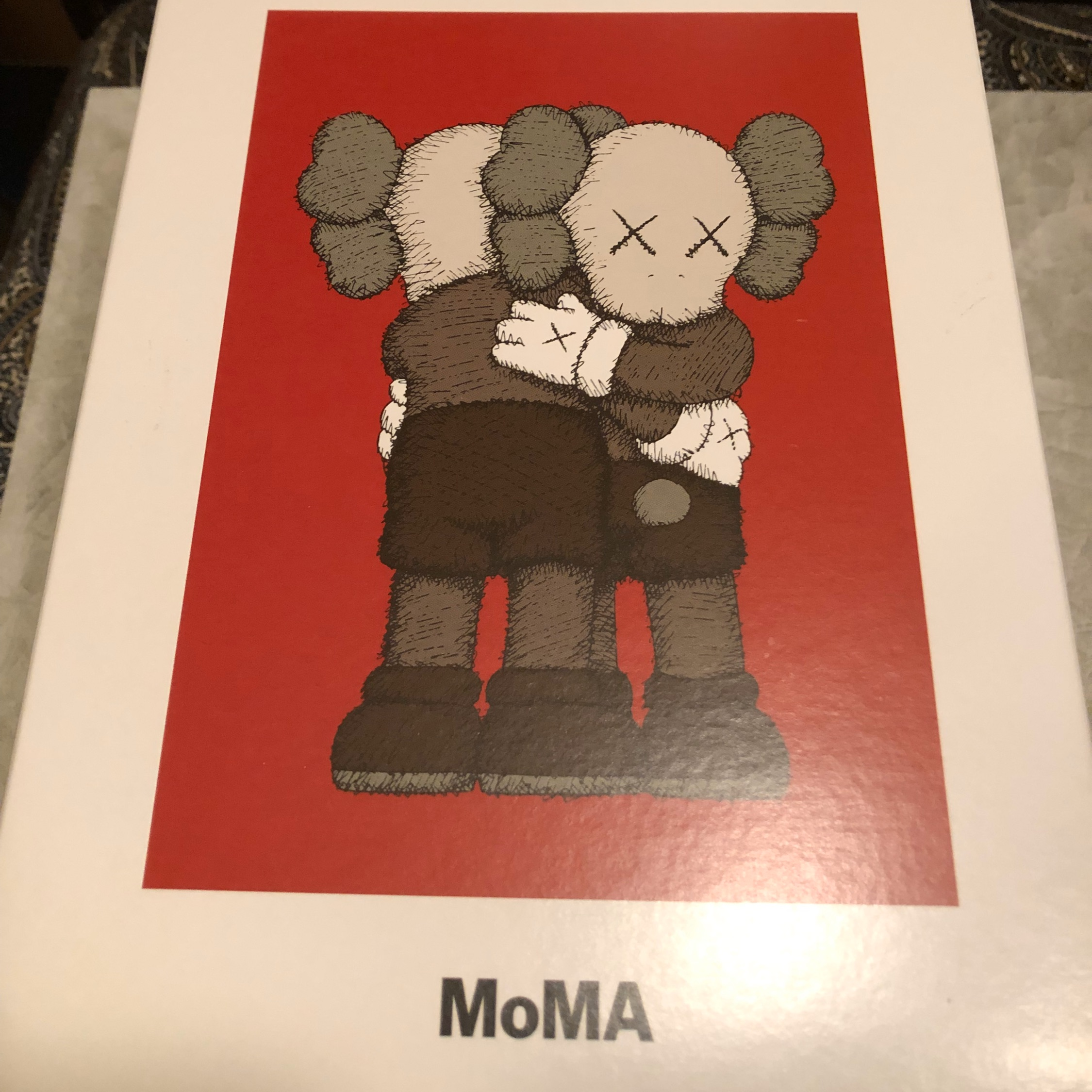 Moma Design Store X Kaws Holiday Cards One Box Set