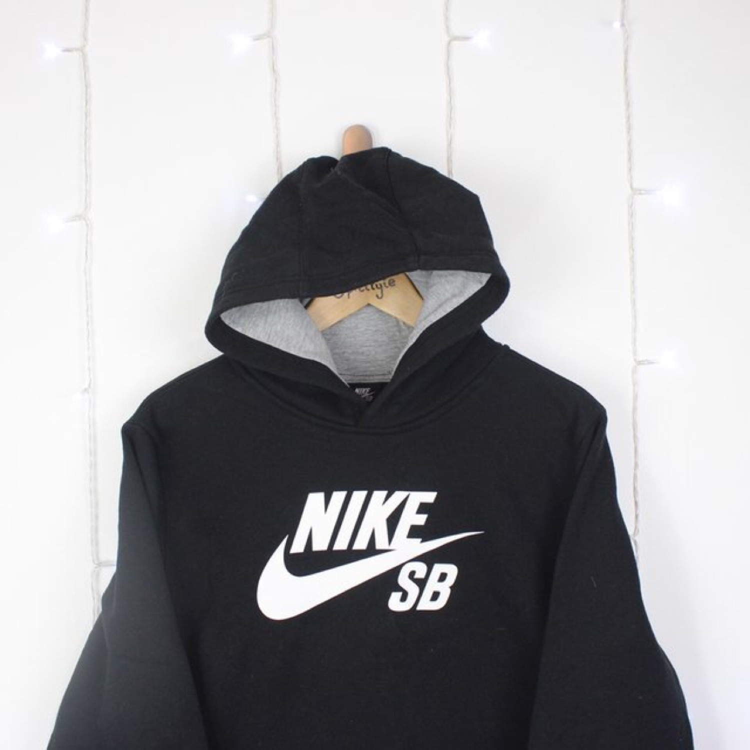 outlet store e7c2b e8387 Nike Sb Pullover Hoodie Black Xs