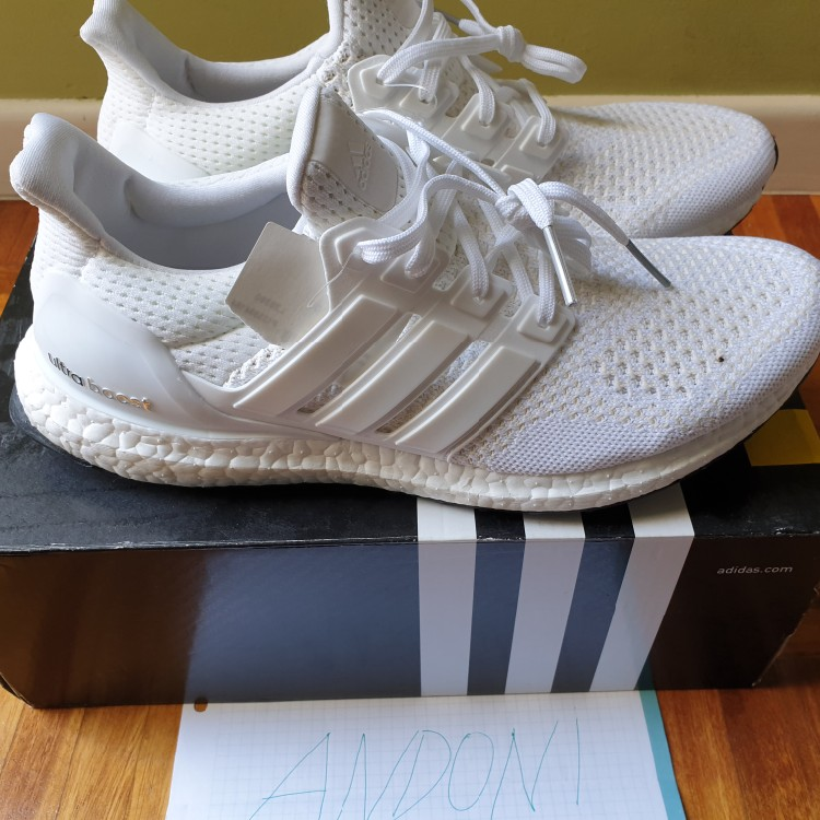 more photos 2876c 6bc28 Adidas ultra Boost 1.0 Og Triple white Us 8.5
