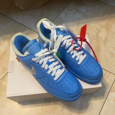 Ds Size 9 Mca Off-White Air Force 1 100% Authentic