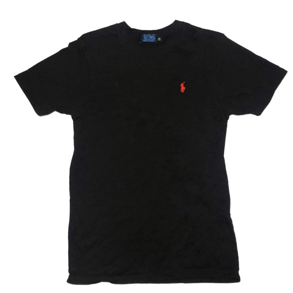 Ralph Lauren Black T-Shirt - Small