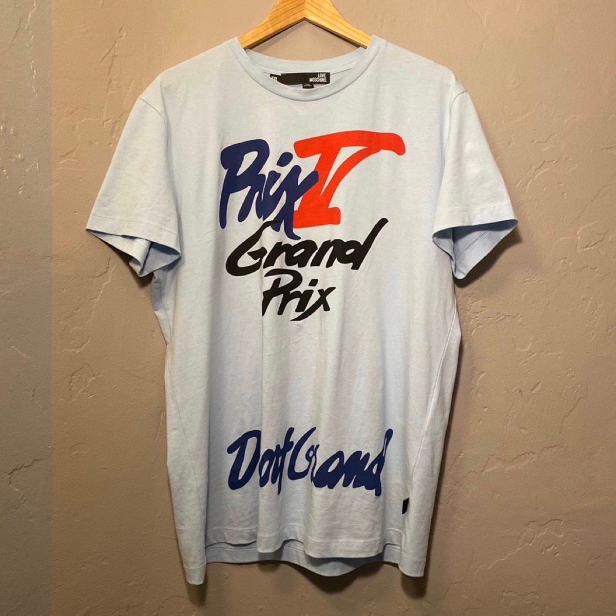 Love Moschino Grand Prix Tee