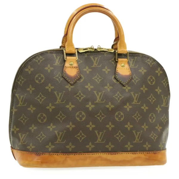 Louis Vuitton Vintage Alma Brown Mono Handbag