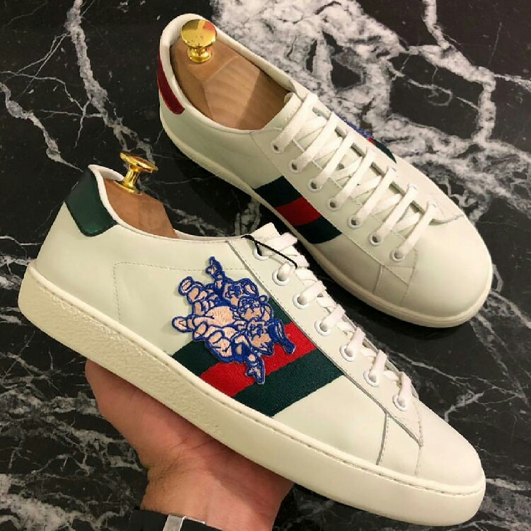 Men's Ace Sneaker With Three Little Pigs